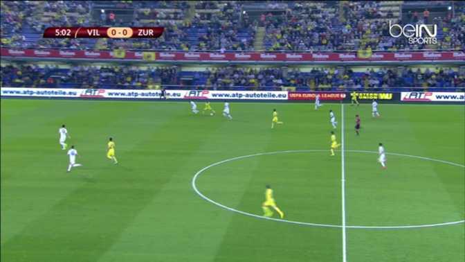 L.Europa : Villarreal 4-1 FC Zurich