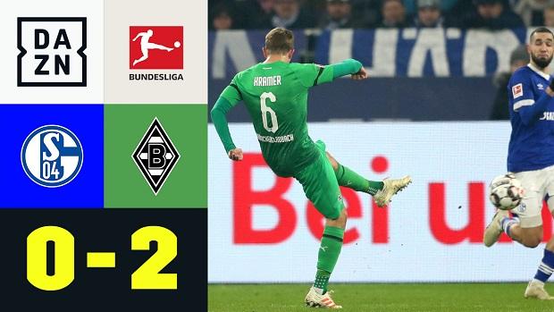 Bundesliga: FC Schalke 04 - Borussia M'gladbach | DAZN Highlights