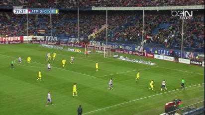 Liga : Atlético Madrid 0-1 Villarreal