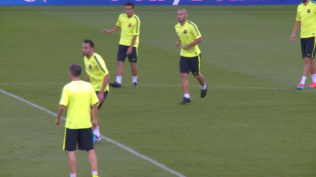 """Foot : LDC - Groupe F : FC Barcelone, Enrique : """"Précis, concentrés et motivés"""""""