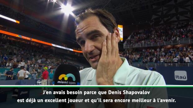 """Basket : Miami - Federer - """"Un service d'Isner, c'est comme un penalty au football"""""""
