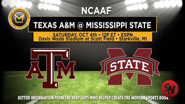 Texas A&M Aggies @ Mississippi State Bulldogs