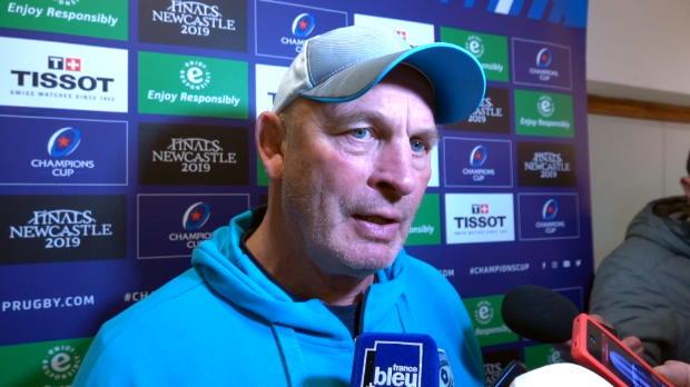 """Rugby : 4e j. - Cotter - """"Un match sérieux, je suis content pour les joueurs"""""""