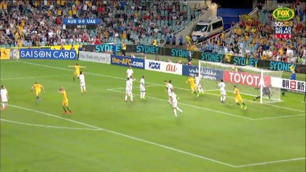 Caltex Socceroos edge UAE