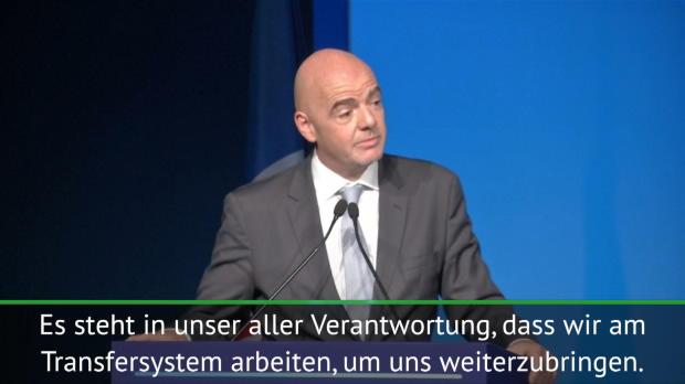 FIFA: Infantino will am Transfersystem arbeiten