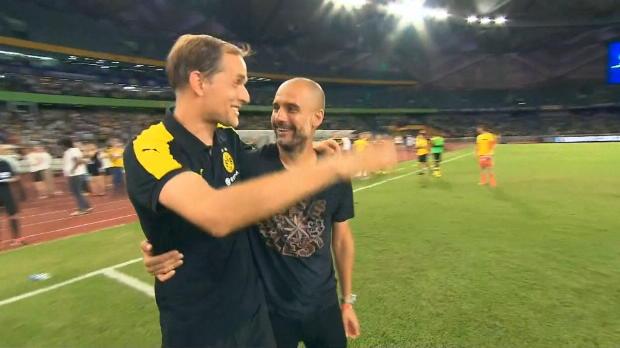 ICC: Guardiola mit Elfer-Sieg gegen Tuchels BVB