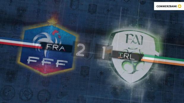 Fünf Fakten nach Frankreich gegen Irland