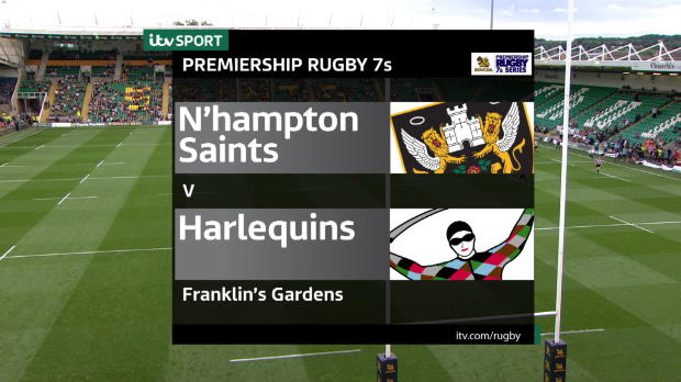 Aviva Premiership - Match Highlights - Northampton Saints 7s v Harlequins 7s
