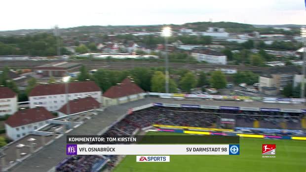 2. Bundesliga: VfL Osnabrück - SV Darmstadt 98   DAZN Highlights