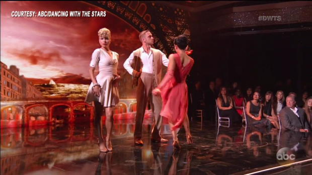 "Nikki Bella dances a romantic Argentine Tango on ""Dancing with the Stars"""