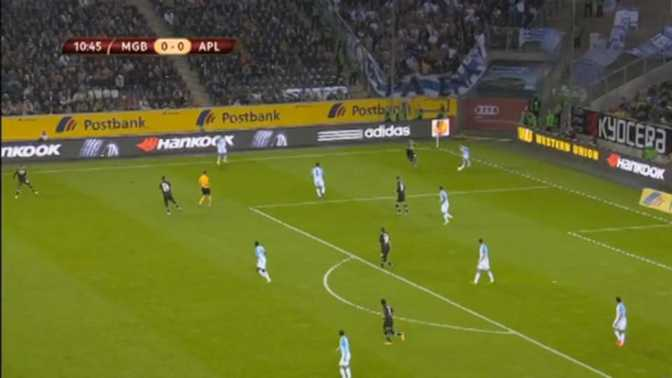 L.Europa : M'Gladbach 5-0 Apollon Limassol
