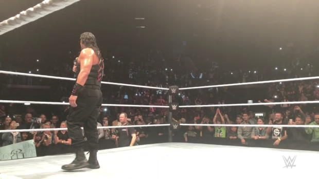 """Roman Reigns says """"Thank you"""" to Cape Town"""