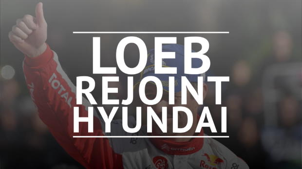 WRC - Sébastien Loeb rejoint Hyundai
