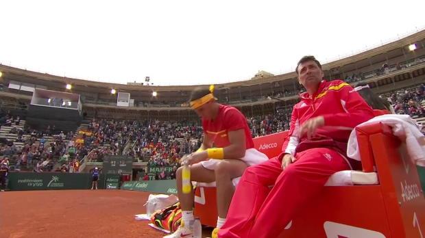 Davis Cup, Tag 1, Kohlschreiber - Nadal
