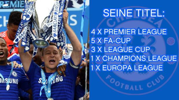 John Terry: Eine Karriere für den FC Chelsea