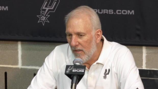 Basket : NBA - Spurs - Popovich n'a rien changé