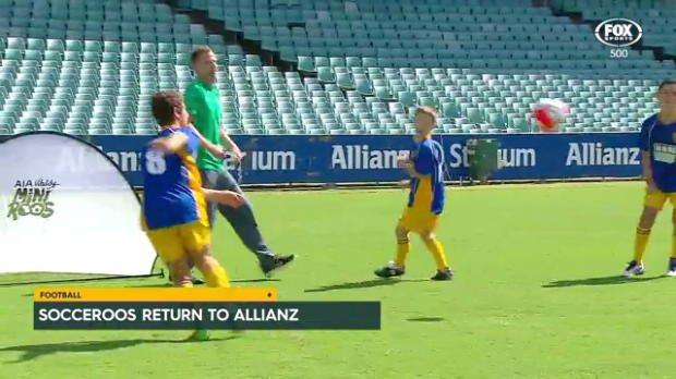 Socceroos return to Allianz