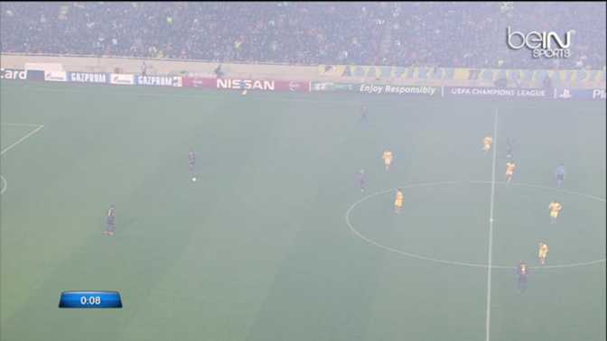 LdC : APOEL Nicosie 0-4 FC Barcelone