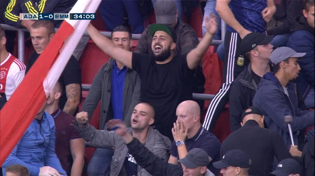 Three little Birds: Marley-Sohn auf Ajax-Tribüne