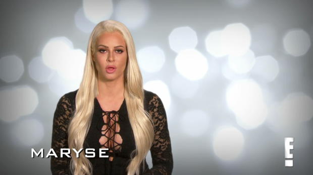 Maryse has some important news for The Miz: Total Divas Preview Clip, Jan. 24, 2018
