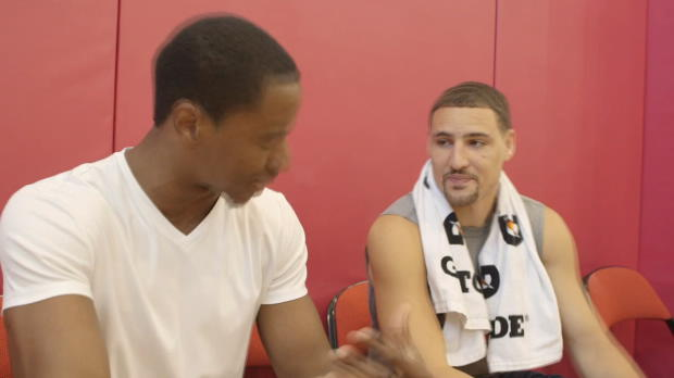 Portuguese Lessons With Klay Thompson
