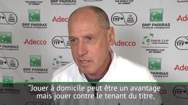 : Coupe Davis - Barazzutti - 'Jouer à domicile peut être un avantage mais...'