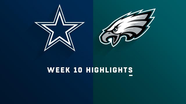 Cowboys vs. Eagles highlights   Week 10