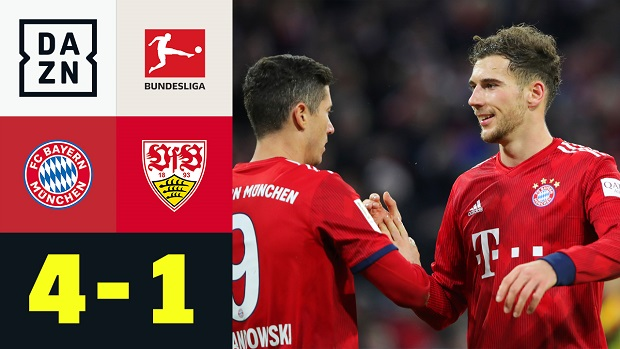 Bundesliga: FC Bayern München - VfB Stuttgart | DAZN Highlights