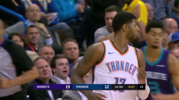 WSC: Paul George 20 points vs the Hornets