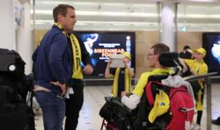 Hear from our new Dutch midfielder, Wout Brama on his arrival at Sydney Airport