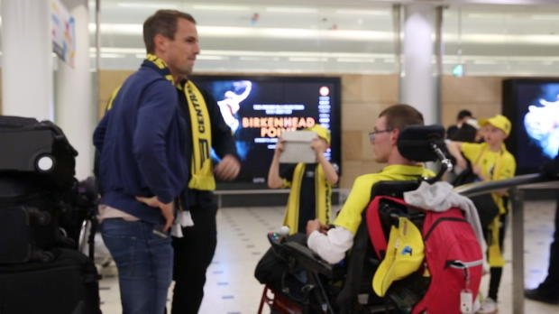 EXCLUSIVE: Wout Brama's Airport Arrival