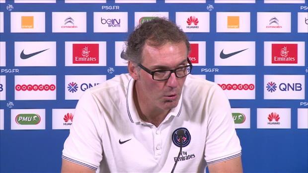 PSG - Blanc : 'On a espoir de r�cup�rer Ibra pour Barcelone'