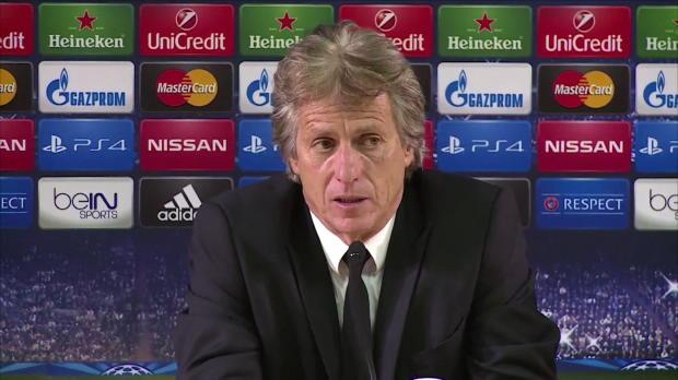 """Foot : LDC - Groupe C : Jesus : """"Monaco est mieux entré dans le match"""""""