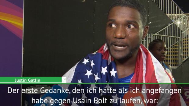"""Gatlins erster Gedanke: """"Bier mit Bolt trinken"""""""