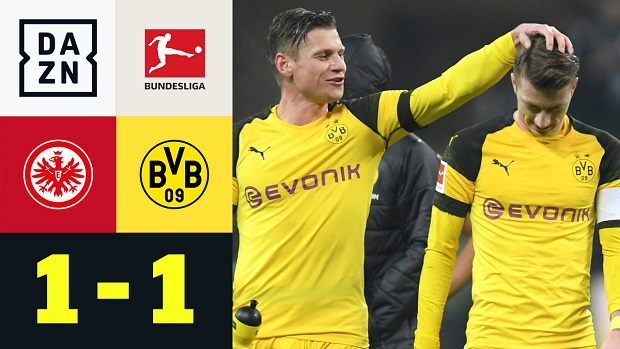 Bundesliga: Eintracht Frankfurt - Borussia Dortmund | DAZN Highlights