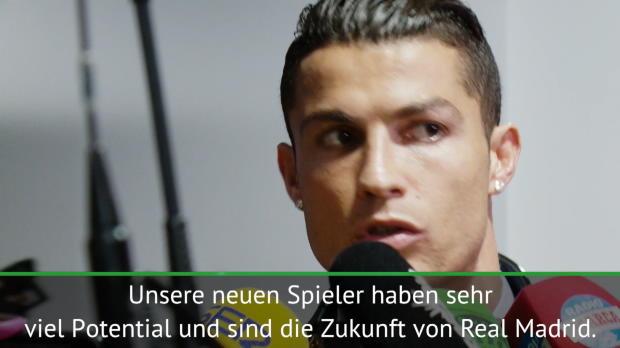 Ronaldo bemängelt königliche Kader-Tiefe
