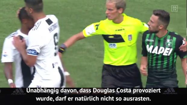 Serie A: Scharfe Kritik nach wildem Costa-Ausraster