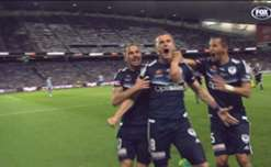 Melbourne Victory striker Besart Berisha won the club's 2016/17 Golden Boot with 21 goals.