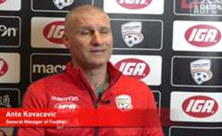 Adelaide United Head of Football Operations, Ante Kovacevic, talks about what impressed him about Marco Kurz' CV.