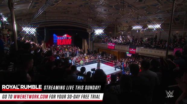 The Undertaker returns: Raw 25, Jan. 22, 2018