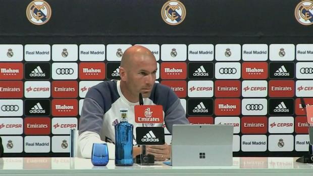 """James-Wechsel: Zidane: """"Er hat einen Vertrag"""""""