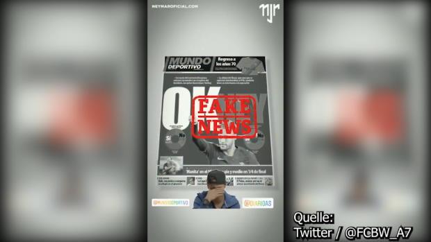 Neymar-Rückkehr zu Barca? Fake News!