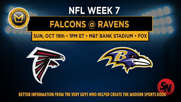 Atlanta Falcons @ Baltimore Ravens