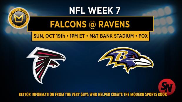 Atlanta Falcons @ Baltimore Ravens