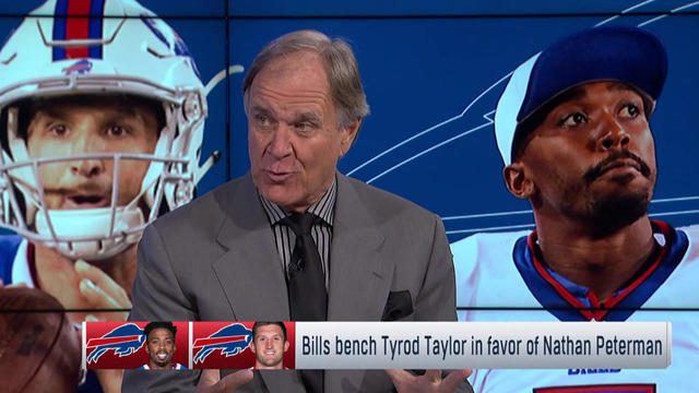 Brian Billick: I don't think Bills believe Nathan Peterman will make them better now