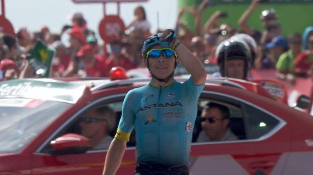 Vuelta: Lopez siegt, Froome baut Vorsprung aus