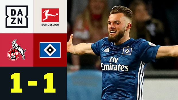 2. Bundesliga: 1. FC Köln - Hamburger SV | DAZN Highlights v2