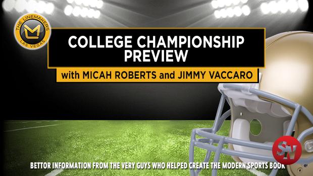 College Football Championship: Money Flow