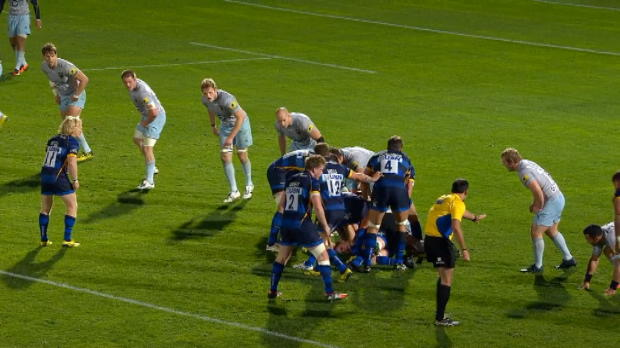 Aviva Premiership - Worcester Warriors win with last minute drop goal