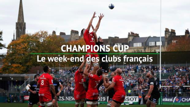 Rugby : 1ère j. - Retour sur le week-end des clubs français